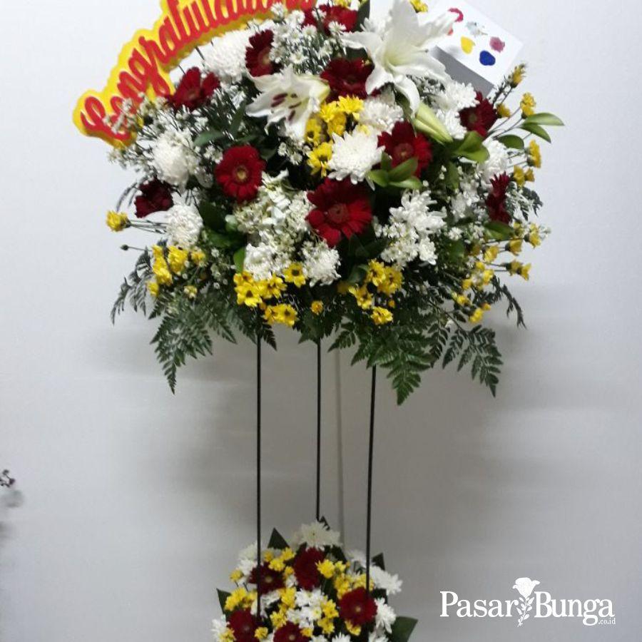 pasar bunga - karangan bunga - SKU SF005