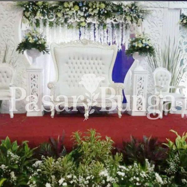 Dekorasi Pernikahan Fresh Flower Pasar Bunga Jakarta