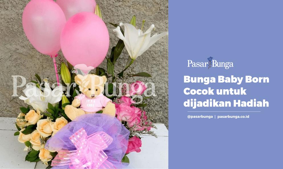 Bunga Baby Born Cocok Dijadikan Hadiah Untuk Ibu Melahirkan